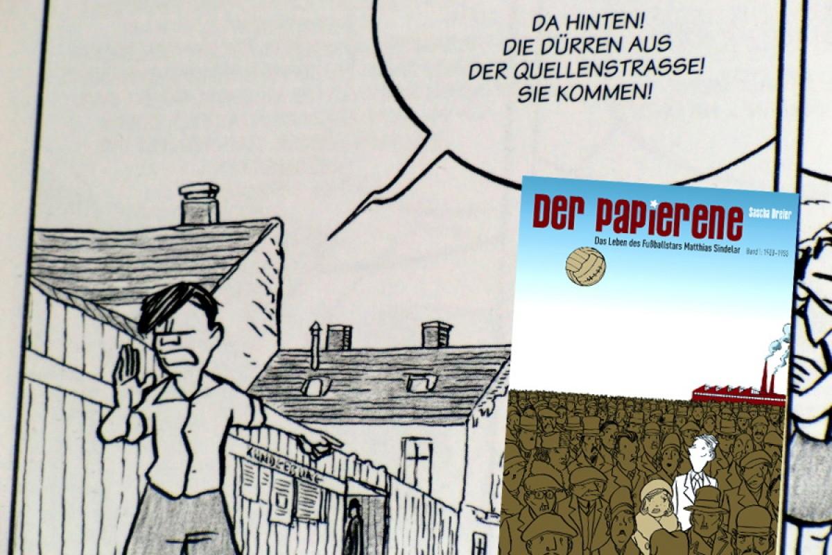 Matthias Sindelar: Der Papierene auf Papier
