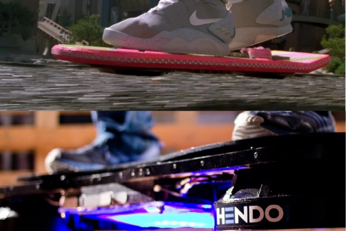 Schweben wie McFly am Hoverboard? Najo!