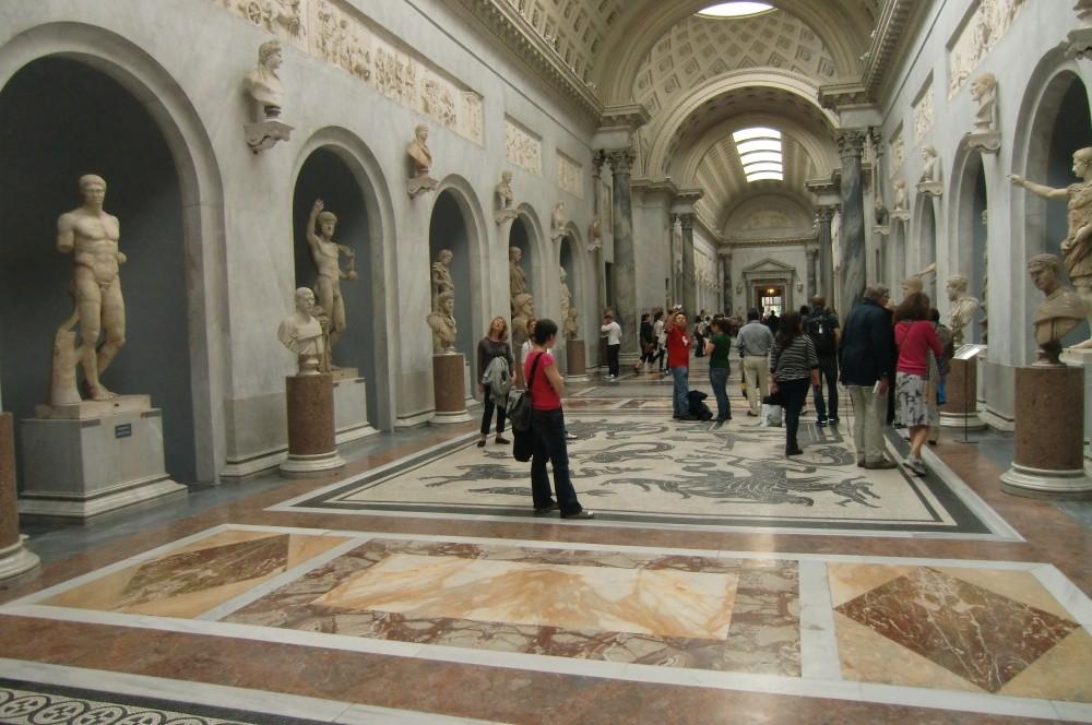 Platz 115: Vatikanmuseum, Rom