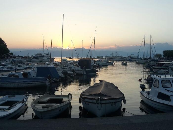 Hafen in Malinska