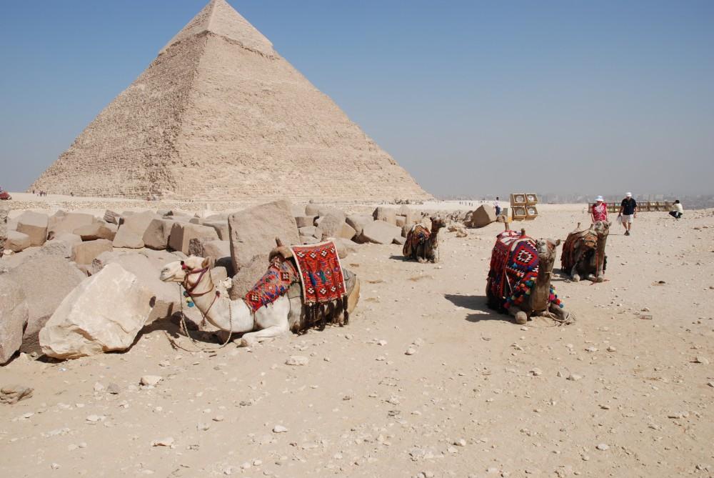 Platz 25: Pyramiden von Gizeh, Ägypten