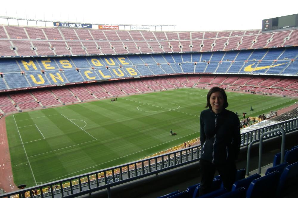 Platz 470: Camp Nou, Barcelona