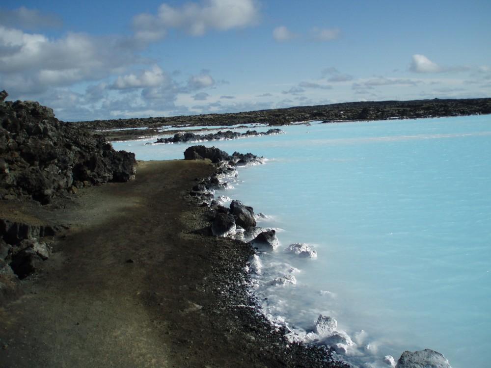 Platz 93: Blue Lagoon, Island