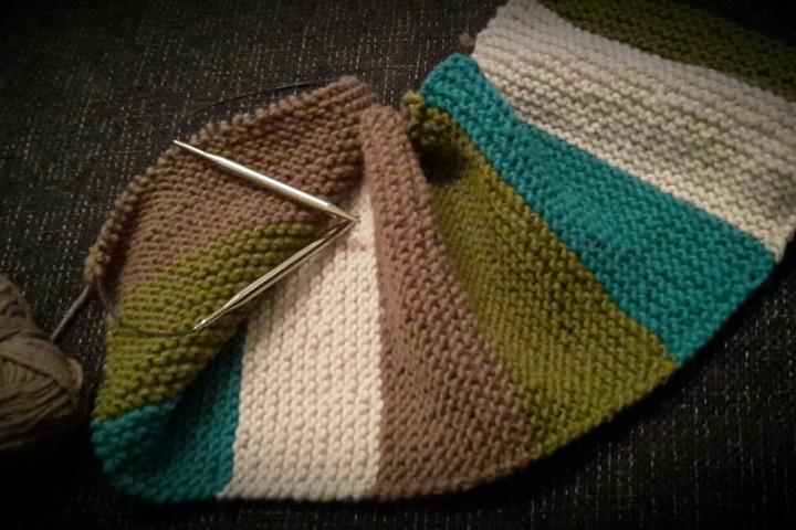 Verstrickt nochmal! Mein erster Selfmade-Schal