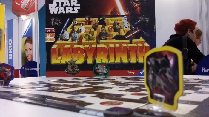 Das verrückte Labyrinth für Jedi Meister