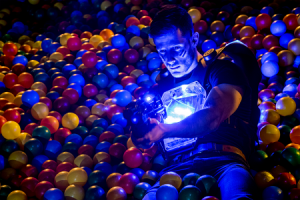 Lasertag spielen in Wien: Einmal wieder Kind sein