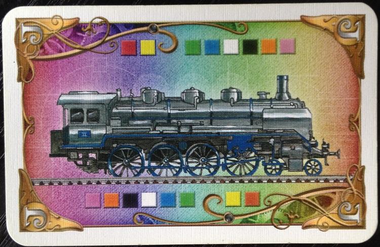Lokomotiv-Karte