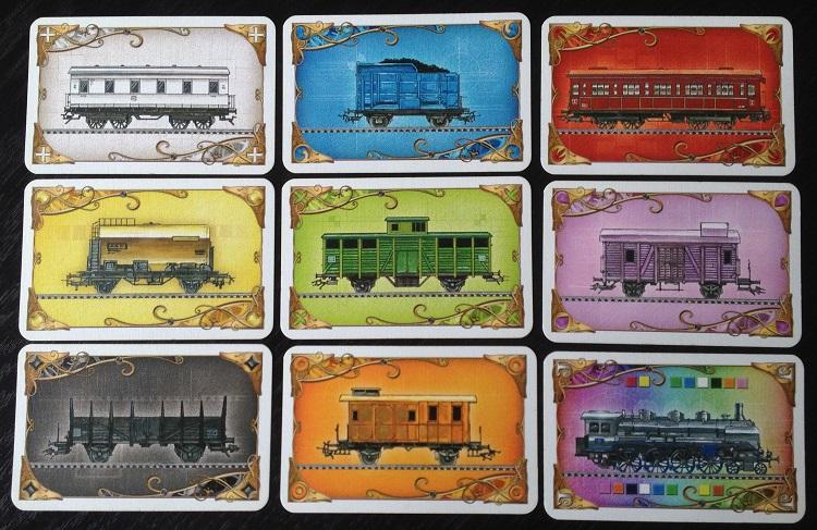 Waggonkarten