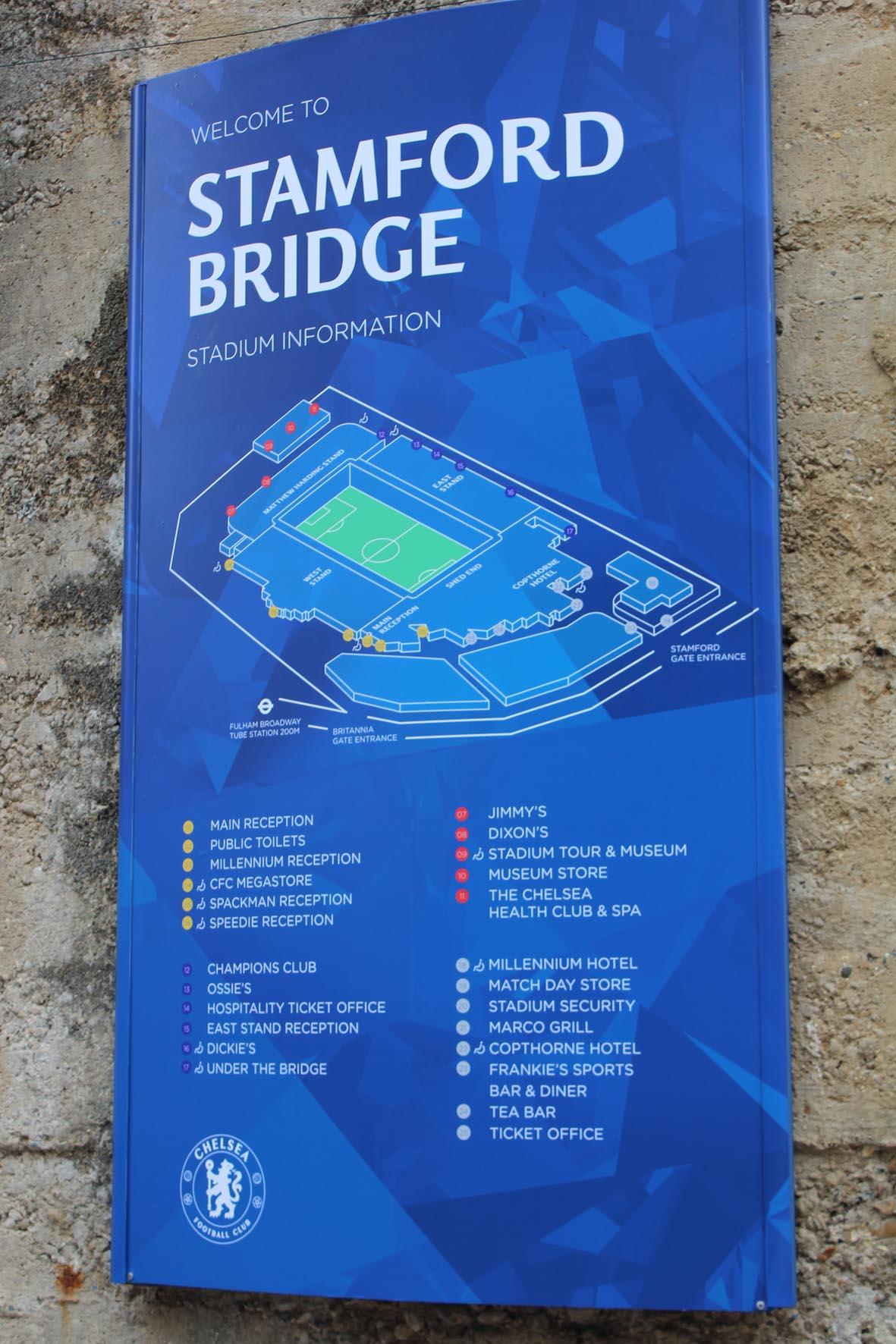 stadiontour stamford bridge, stadiontour, stamford bridge, chelsea, fc chelsea, stadion, tour, plan