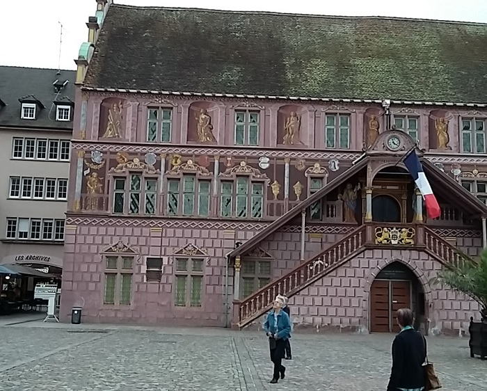 Das Rathaus von Mülhausen