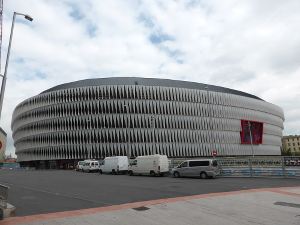 San Mamés, das Stadion des Athletic Club Bilbao.