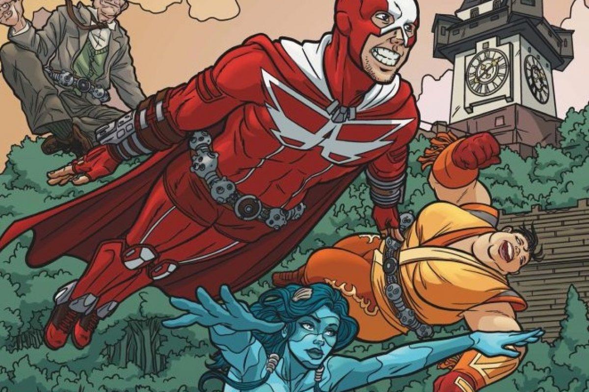 Gib dir österreichische Comichelden mit Schmäh – die Austrian Superheroes