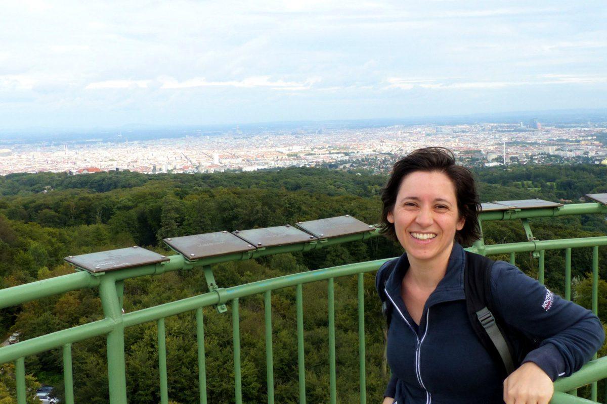 Jubiläumswarte: Blick auf ganz Wien mit zittrigen Knien!