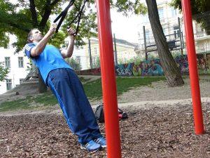 singtraining, übungen, park