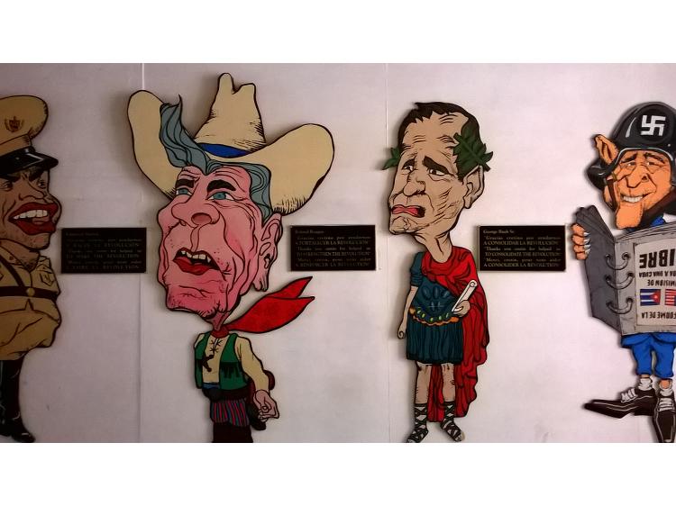 Die U.S.-amerikanischen Präsidenten aus der Sicht Kubas