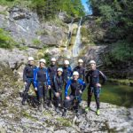Die Canyoning-Truppe