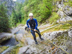 Canyoning, Ötschergräben, Niederösterreich, Canyoning-Tour, canyoning-jack