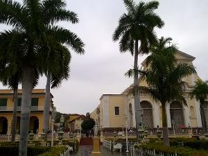 Plaza de Mayor in Trinidad de Cuba