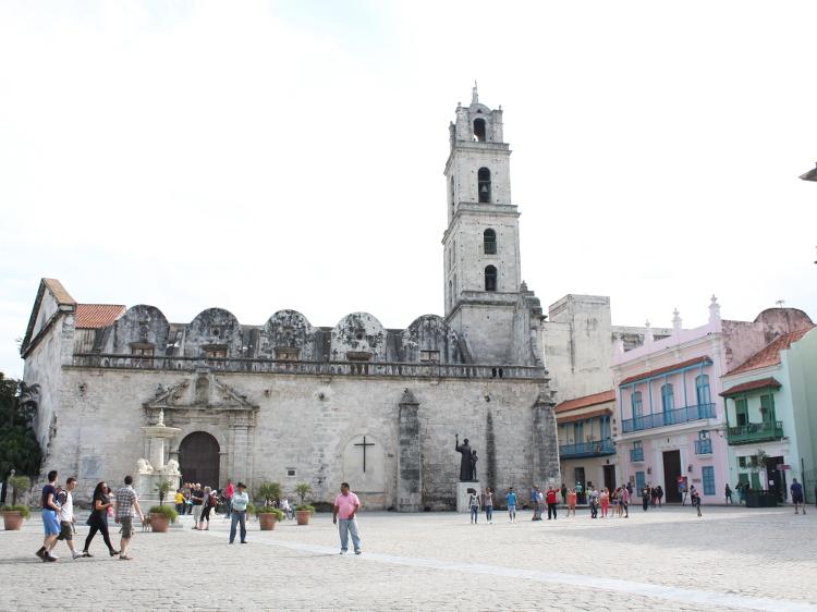 Der Plaza de San Francisco de Asis in Havanna