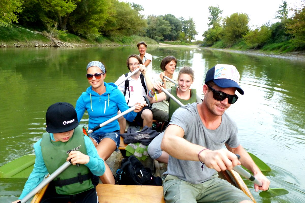 Nationalpark Donau-Auen – eine Kanutour wie eine Universum-Folge