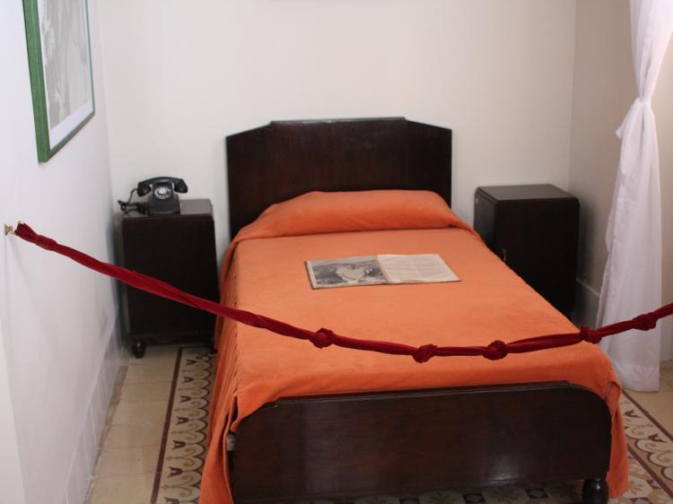 Das Bett im Zimmer von Hemingway