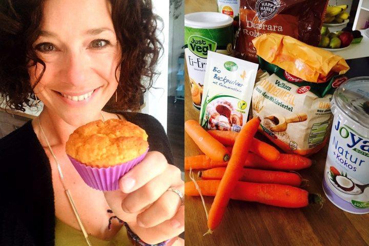 Finger weg! Diese Karotten-Kokos-Muffins sind gesund