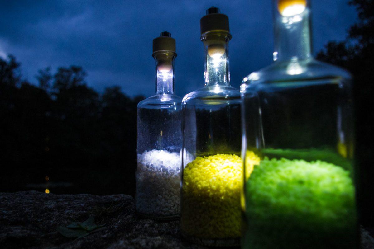 Flaschenlampe bauen – in 10 Minuten zum coolen Deko-Licht