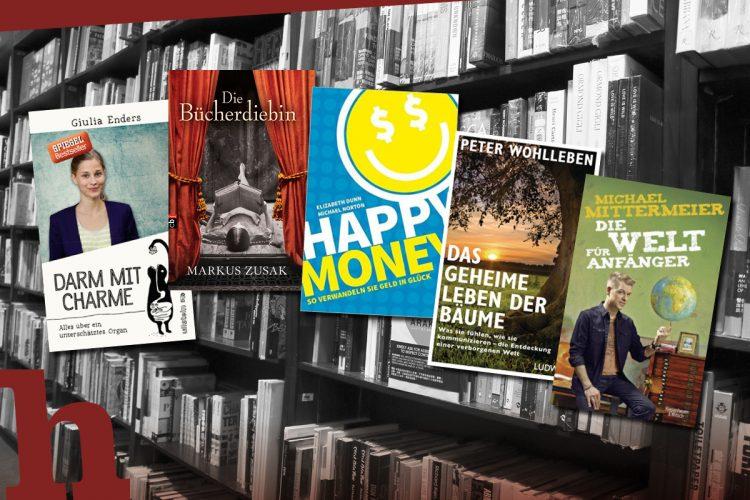 5 Bücher, mit denen du perfekt ins Jahr startest