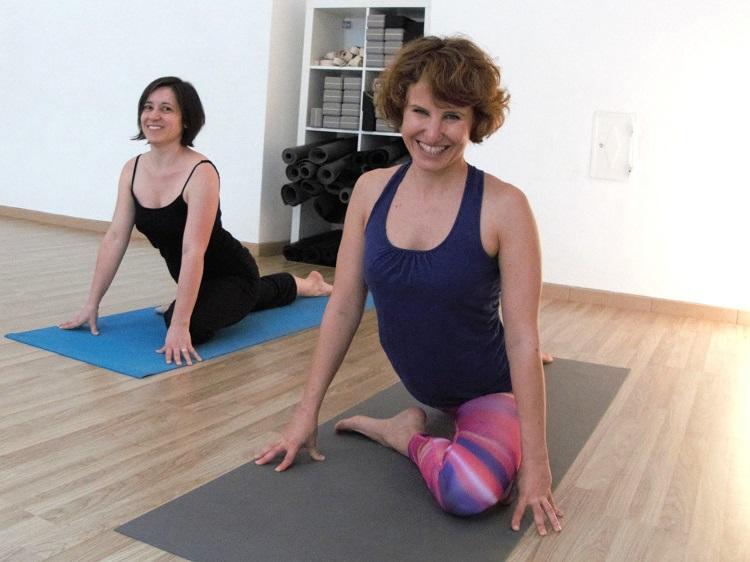 Die Taube: Yogapositionen haben oft lustige Namen.