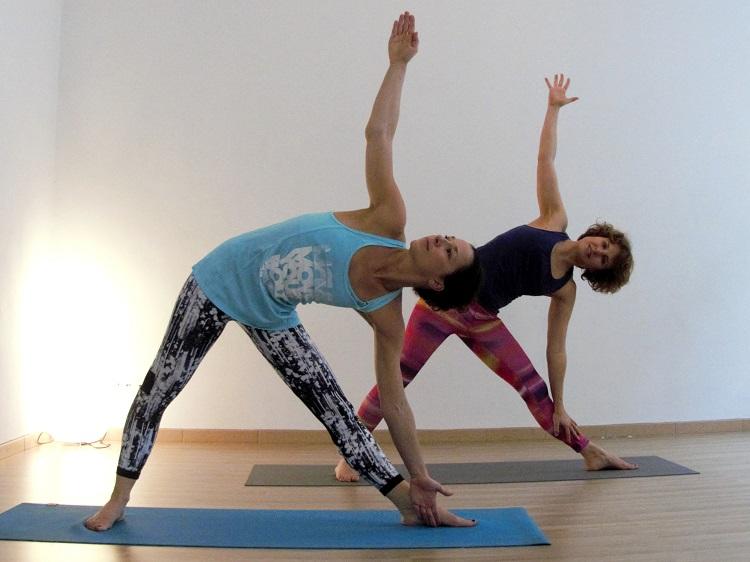 Das Dreieck gibt Benefits für Vitalität, Bodenständigkeit und Flexibilität.