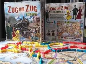 Geschenktipp Gesellschaftsspiele Zug um Zug Europa