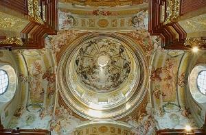 Kuppel Stiftskirche im Stift Melk