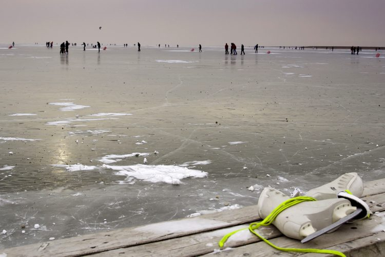 Eislaufen am Neusiedler See – mit Schlittschuhen am Meer der Wiener