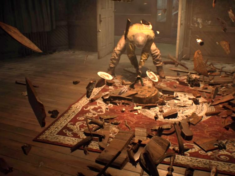 Resident Evil 7 durchgezockt Test Review VR Mister Baker Helden der Freizeit heldenderfreizeit.com