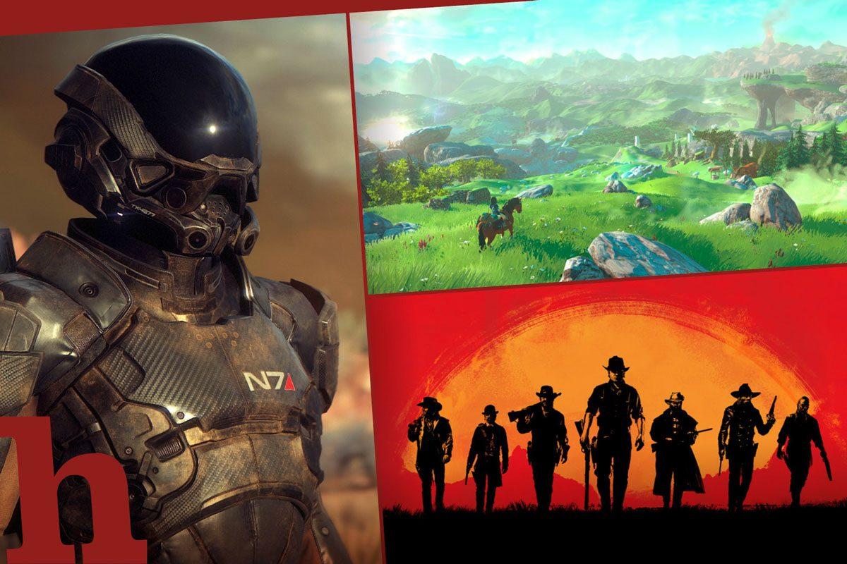 Spielehighlights 2017 – Diese 7 Games musst du heuer zocken!