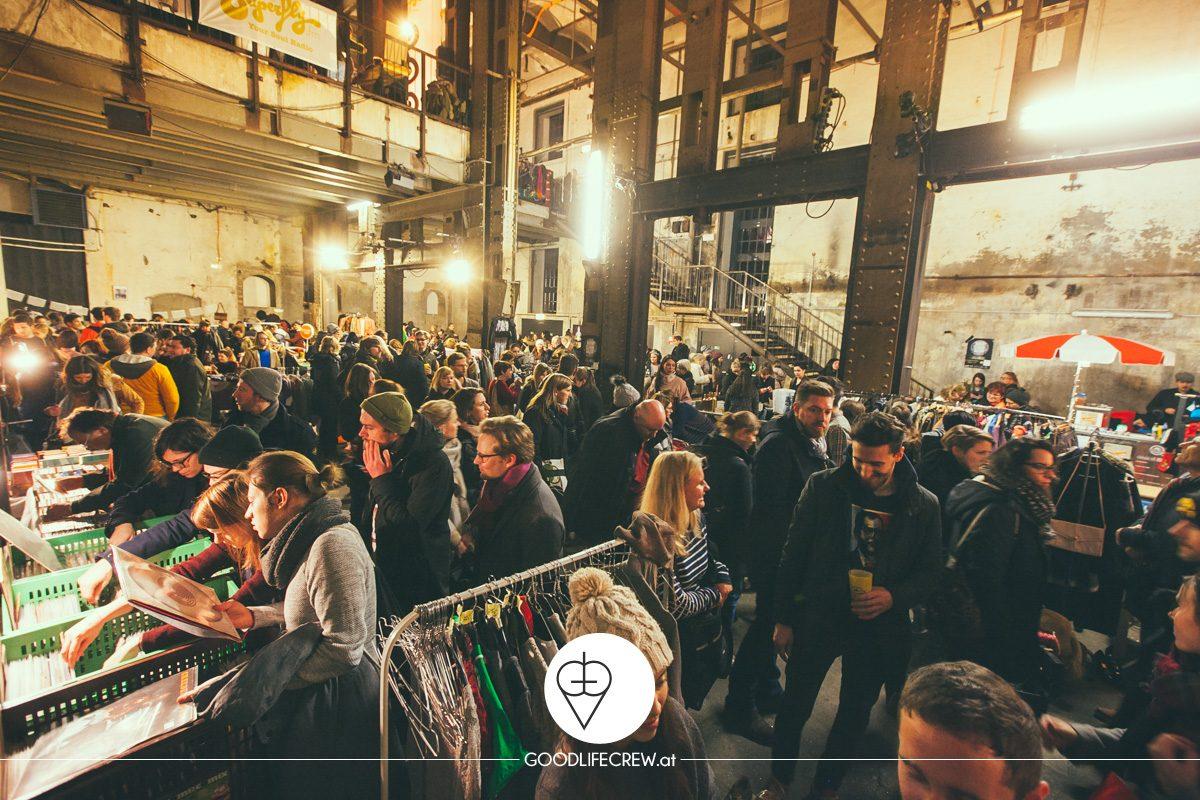 Mondscheinbazar in der Ottakringer Brauerei – Shoppen bei Vollmond