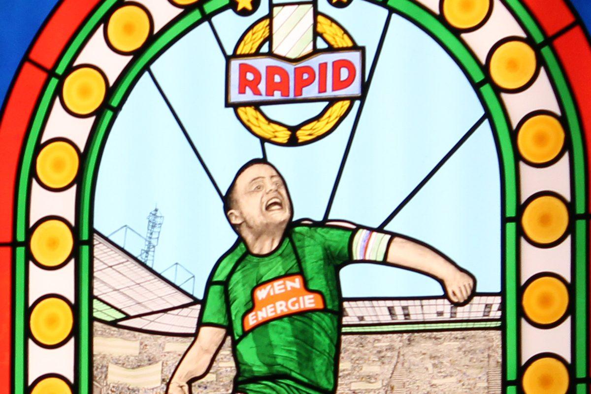 Allianz Stadion: Eine Führung bis zum grün-weißen Fußballgott