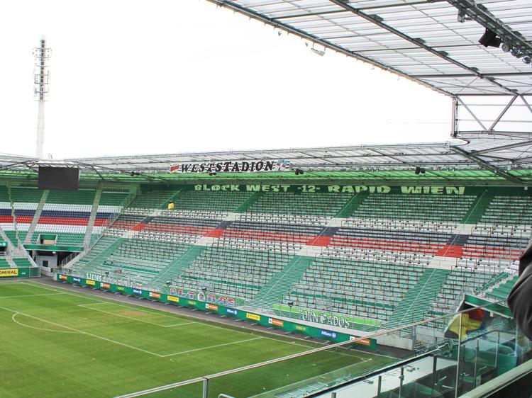 Block West Stadiontour Rapid Allianz Stadion Weststadion