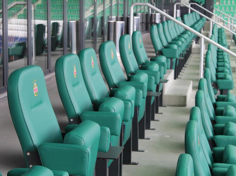 VIP-Loge außen Stadiontour Rapid Allianz Stadion Weststadion