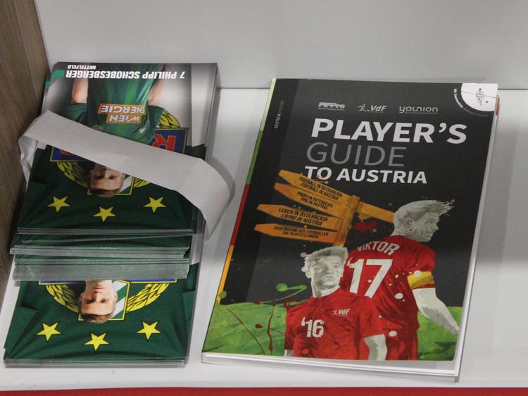 rapid kabine allianz stadion weststadion führung autogrammkarten schobesberger