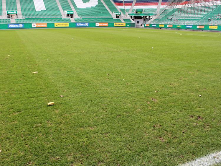 rapid kabine allianz stadion weststadion führung spielfeld