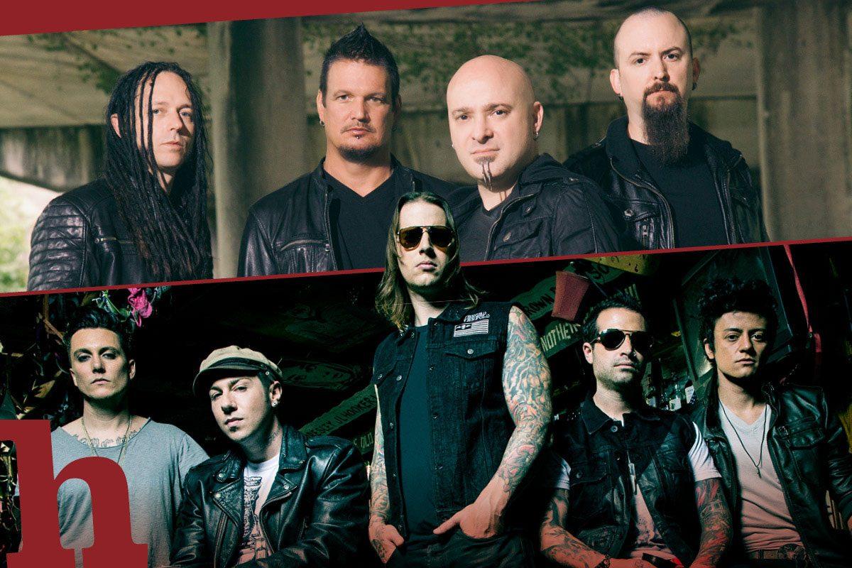 Avenged Sevenfold und Disturbed rocken zusammen die Stadthalle