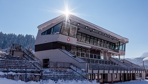 Biathlon-WM Hochfilzen Tribüne Programm Fans ÖSV-Team