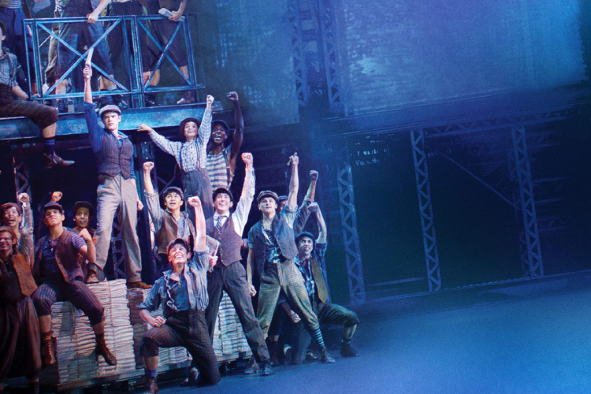 Broadway-Hit Newsies am Sonntag im Kino