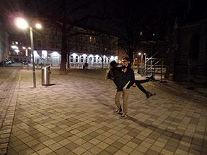 valentinstag romantisch wien spaziergang abendspaziergang graben museumsquartier