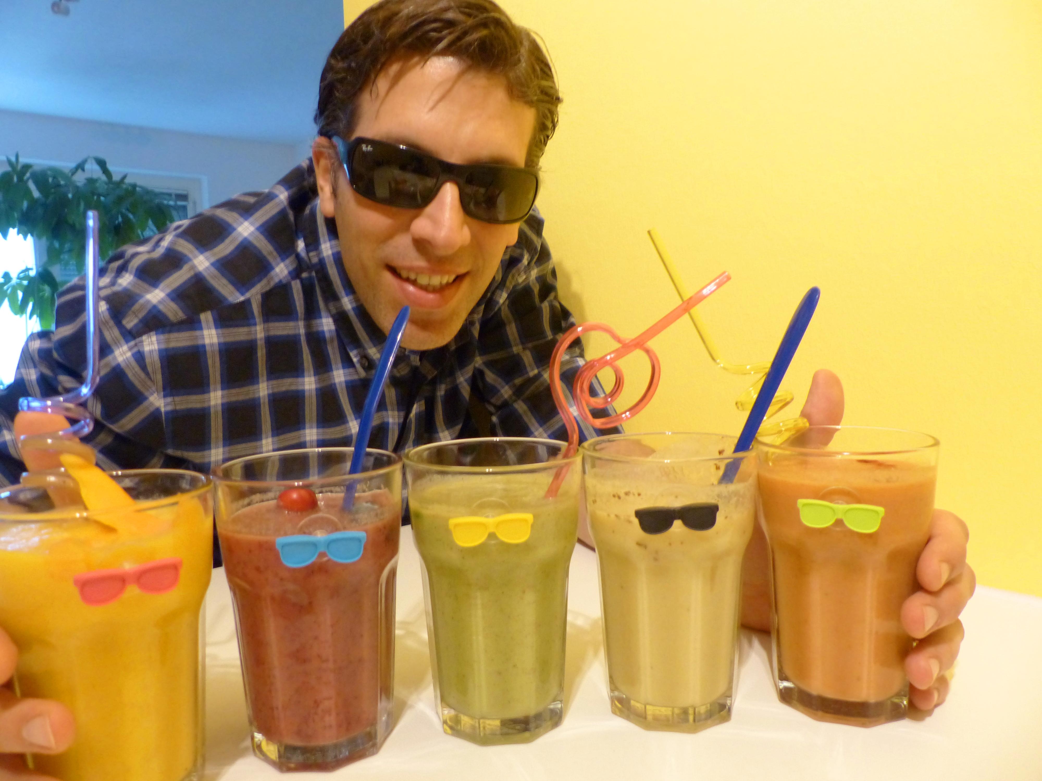 vegane smoothies, farben, smoothie, vegan, bio, rezept, anleitung, video