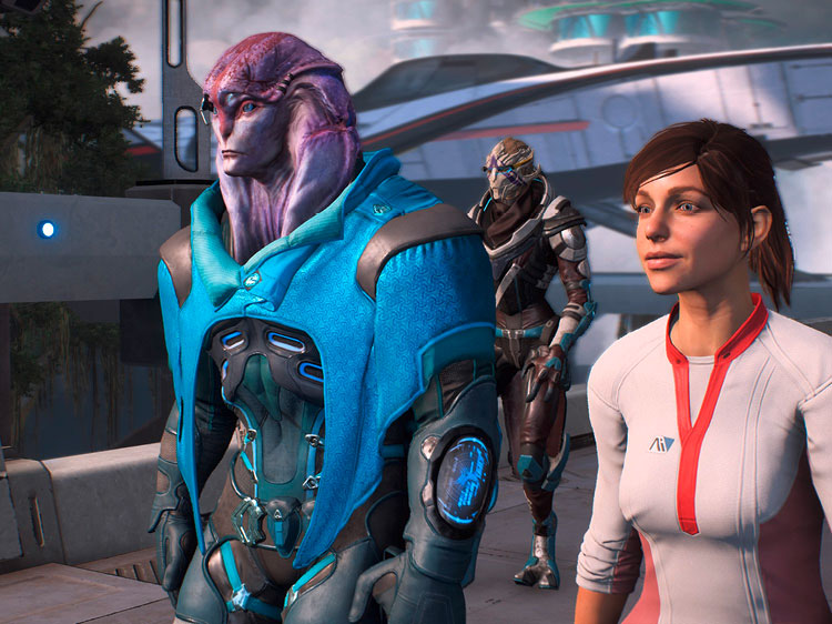 mass effect andromeda, mass effect andromeda test, action-rollenspiel, gameplay, grafik, story, fazit, ps4 pro, screenshot, mass effect, multiplayer, jaal, vetra