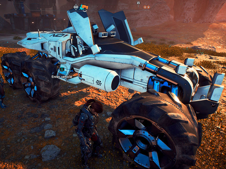 mass effect andromeda, planeten,mass effect andromeda test, action-rollenspiel, gameplay, grafik, story, fazit, ps4 pro, screenshot, mass effect, multiplayer, coop-shooter, third-person, buggy, nomad