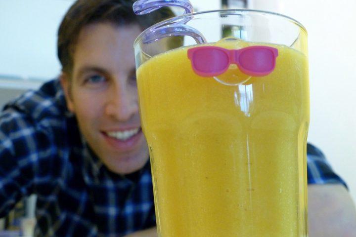 Mix dir den Frühling! Papaya-Orangen-Kurkuma-Smoothie