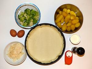 vegetarisch, rezept, backen, karfiol, brokkoli, romanesco, quiche, 3-rosen-kartoffel-quiche